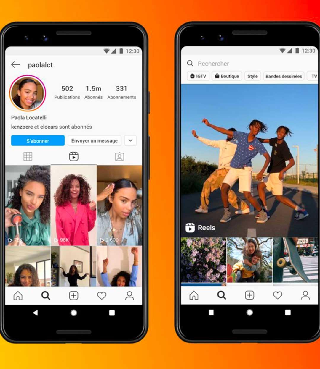 """Instagram sort """"Reels"""" pour concurrencer TikTok"""